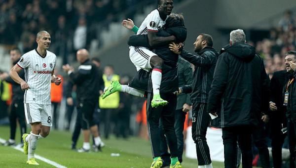 Beşiktaş son 16'ya yükseldi