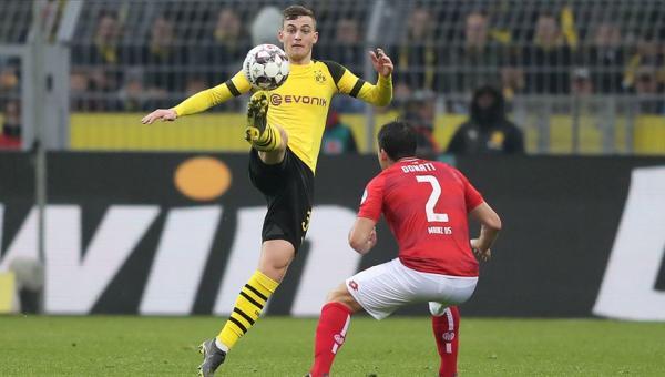 Borussia Dortmund'un Mainz üstünlüğü