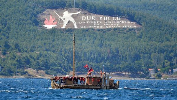 'Abora-IV' gemisi Çanakkale serüveni
