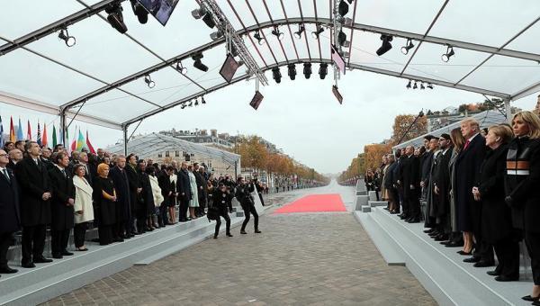 Törende Dünya liderleri birarada