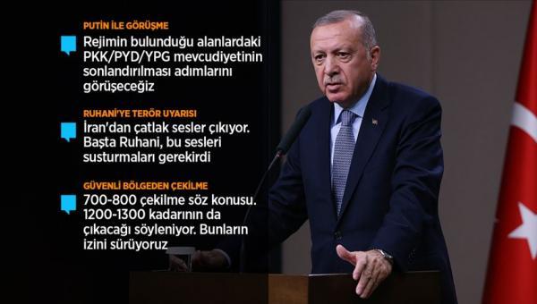 Erdoğan: harekata devam