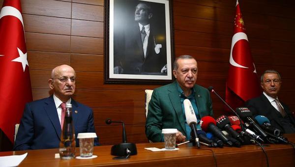 Erdoğan'dan 'af' açıklaması