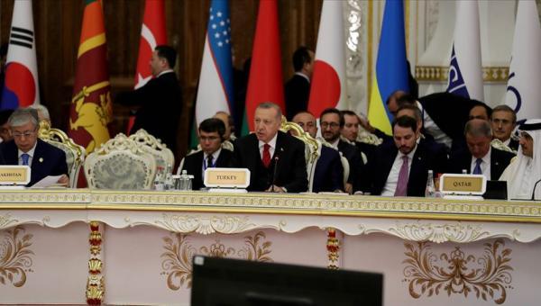 Erdoğan'ın Tacikistan ziyareti