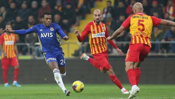 Fenerbahçe puansız