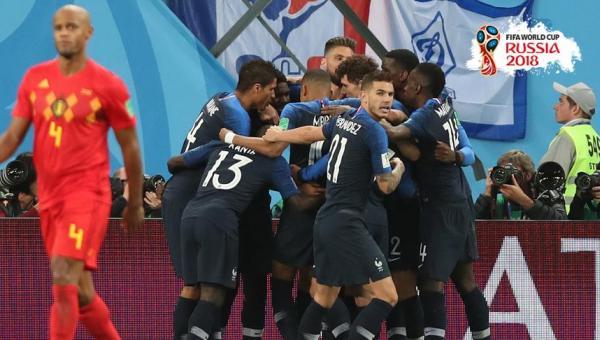 Fransa finale yükseldi