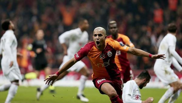 Galatasaray ilk yarıda galip