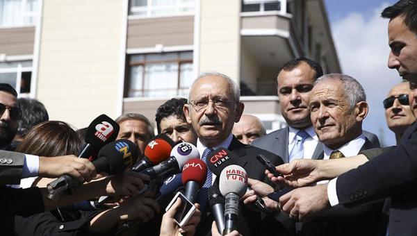 Kılıçdaroğlu: Atatürk'ün temsilcisiyiz