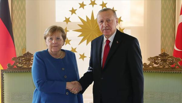 Erdoğan-Merkel görüşmesi sonlandı