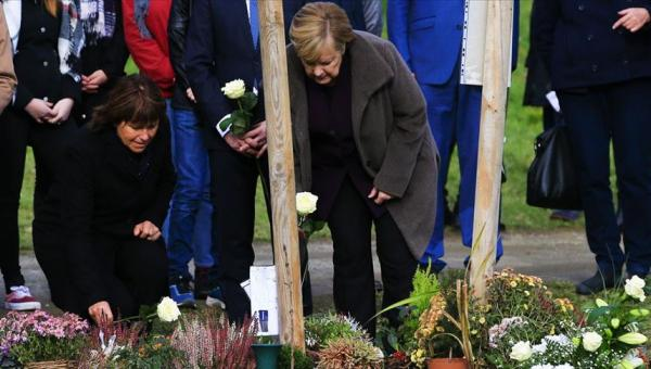Merkel'in NSU ziyareti
