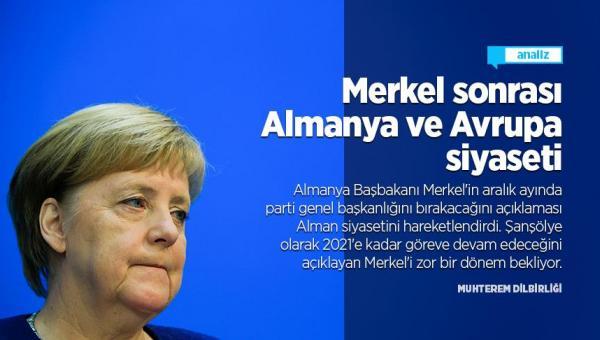 Merkel sonrası Almanya ve Avrupa