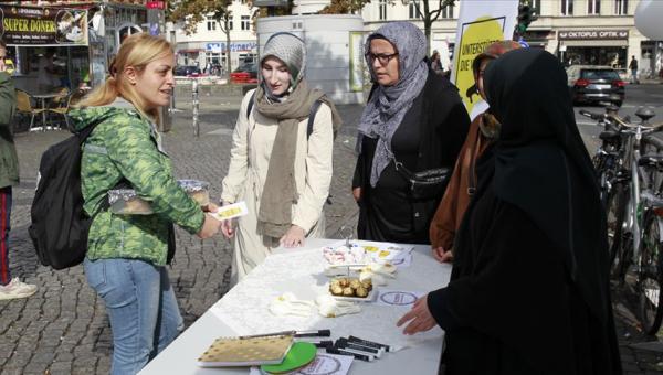 Müslüman kadınlar ayrımcılığına karşı aksiyon