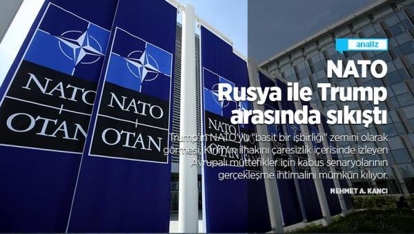 NATO Rusya ile Trump arasında