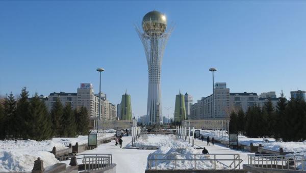 Kazakistan'ın başkenti Nur-Sultan