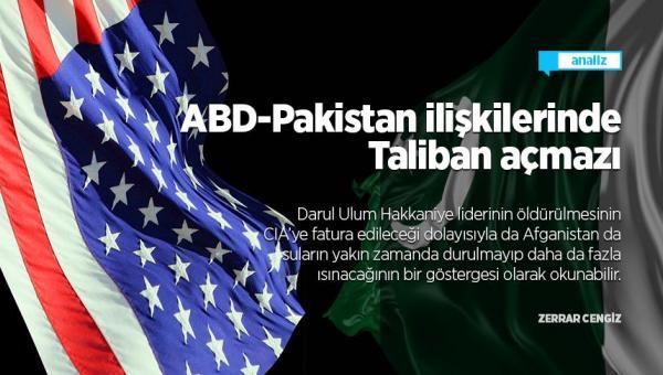 Pakistan ilişkilerinde Taliban