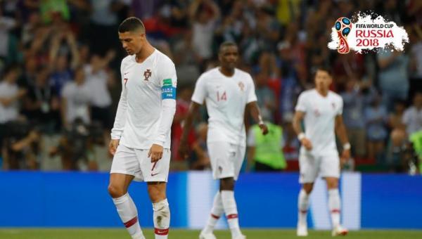 Ronaldo'lu Portekiz elendi