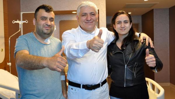 Türk profesör şah damarı tümörleri için umut oldu