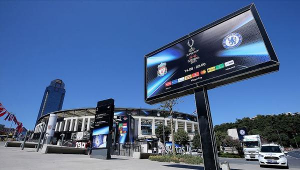 UEFA Süper Kupa İstanbul'da