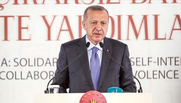 Erdoğan: Yapay sınırlar ufkumuzu belirlemez